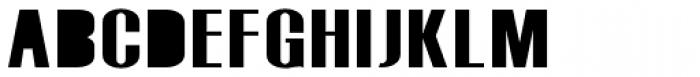 Monterra Fill SemiBold Font UPPERCASE