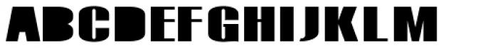 Monterra SC A Fill ExtraBold Font LOWERCASE