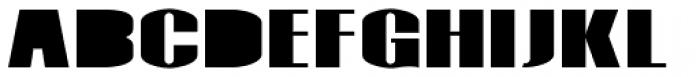 Monterra SC A Fill Fat Font UPPERCASE