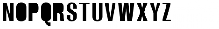 Monterra SC A Fill Regular Font UPPERCASE