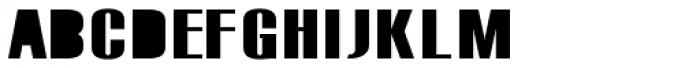 Monterra SC A Fill SemiBold Font LOWERCASE