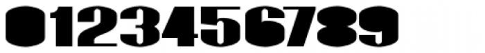 Monterra SC B Fill Fat Font OTHER CHARS
