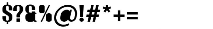 Monterra SC B Fill Regular Font OTHER CHARS