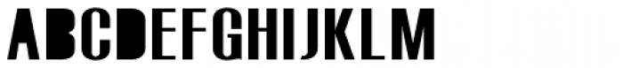 Monterra SC B Fill Regular Font UPPERCASE