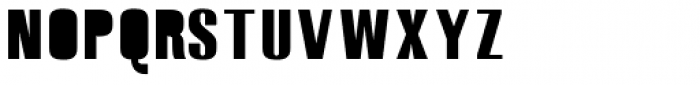 Monterra SC B Fill Regular Font LOWERCASE