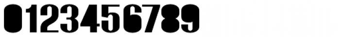 Monterra SC B Fill SemiBold Font OTHER CHARS