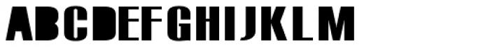 Monterra SC B Fill SemiBold Font LOWERCASE
