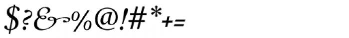 Monteverdi Italic Font OTHER CHARS