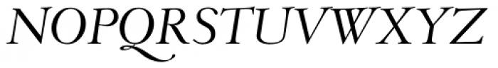 Monteverdi Italic Font UPPERCASE