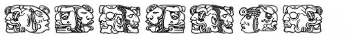 Montezuma Two Font OTHER CHARS