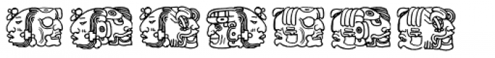 Montezuma Two Font LOWERCASE