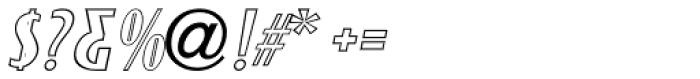 Monthly Adventures Oblique JNL Font OTHER CHARS