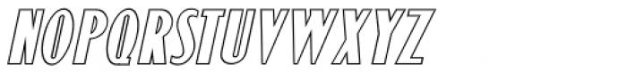 Monthly Adventures Oblique JNL Font UPPERCASE