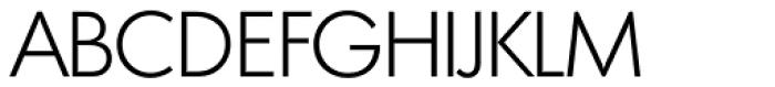 Montreal Serial Light Font UPPERCASE