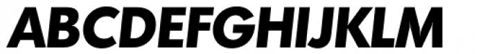 Montreal TS Bold Italic Font UPPERCASE