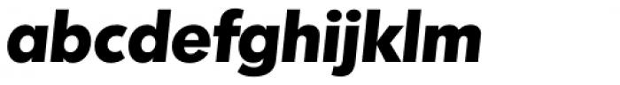 Montreal TS Bold Italic Font LOWERCASE
