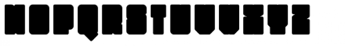 Monumental Fill Font LOWERCASE