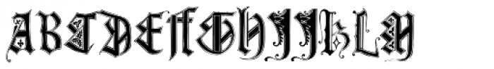 Monumental Gothic Font UPPERCASE