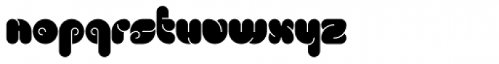 Mook Bold Font LOWERCASE