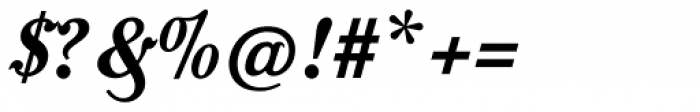 Moonface Script Bold Font OTHER CHARS