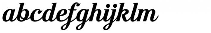 Moonface Script Bold Font LOWERCASE