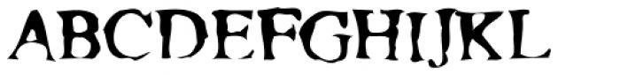 Moonshine Font UPPERCASE
