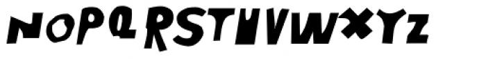 Moore 003 Bold Italic Font UPPERCASE