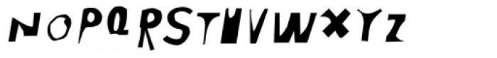 Moore 003 Italic Font UPPERCASE
