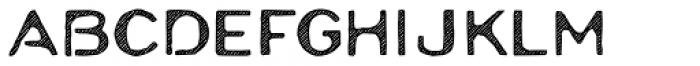 Moraine Hatch Font UPPERCASE
