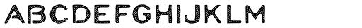Moraine Hatch Font LOWERCASE