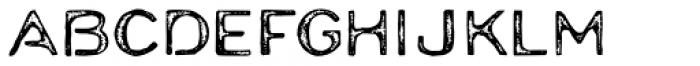 Moraine Rust Font UPPERCASE