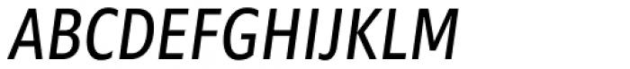 Morandi Cond Italic Font UPPERCASE