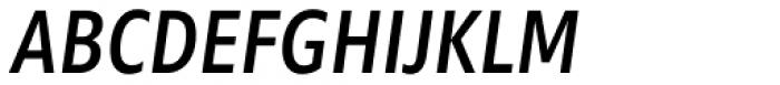 Morandi Cond Medium Italic Font UPPERCASE