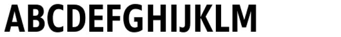 Morandi Cond SemiBold Font UPPERCASE