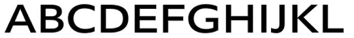 Morandi Ext Medium Font UPPERCASE
