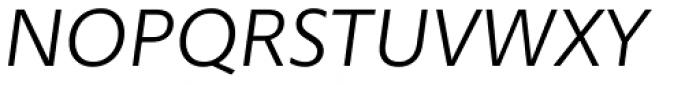 Morandi Light Italic Font UPPERCASE