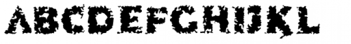 More Kaputt EF Regular Font UPPERCASE