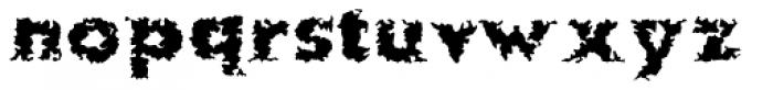 More Kaputt EF Regular Font LOWERCASE