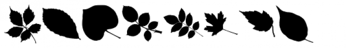 MoreLeaves UL Font OTHER CHARS