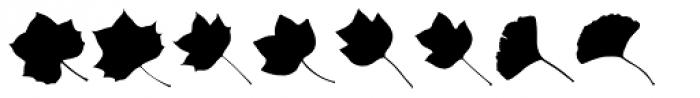 MoreLeaves UL Font LOWERCASE