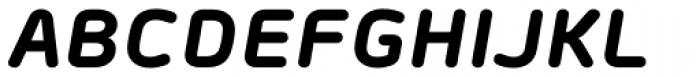 Morebi Rounded Black Italic Font UPPERCASE