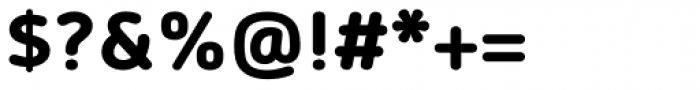 Morebi Rounded Black Font OTHER CHARS