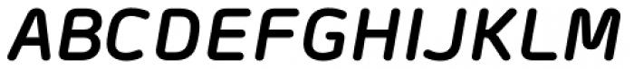 Morebi Rounded Bold Italic Font UPPERCASE