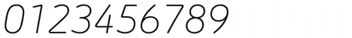 Morebi Rounded Light Italic Font OTHER CHARS