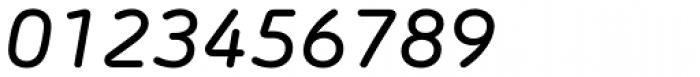 Morebi Rounded Medium Italic Font OTHER CHARS