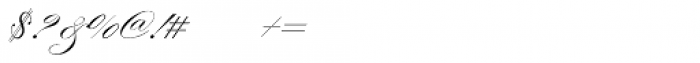 Morena Regular Font OTHER CHARS