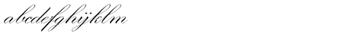 Morena Regular Font LOWERCASE