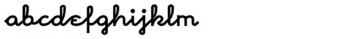 Morenita Bold Font LOWERCASE