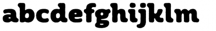 Moreno Rough Two Black Font LOWERCASE