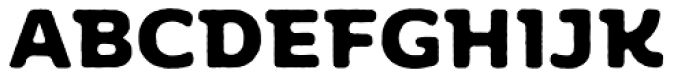 Moreno Rough Two Bold Font UPPERCASE